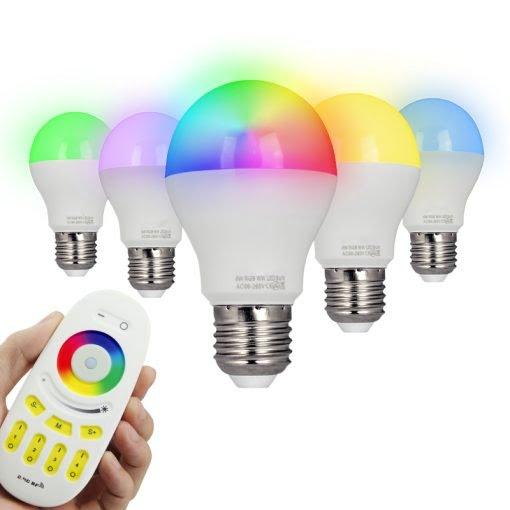 LED LAMP E27 6W RGB+CCT-5716