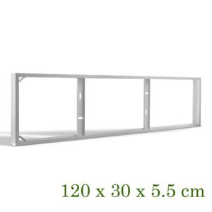OPBOUWFRAME T.B.V. 120X30CM PANEEL-0