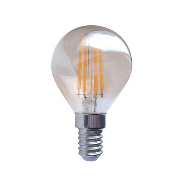 LED FILAMENT E14 AMBER 1.6W-0