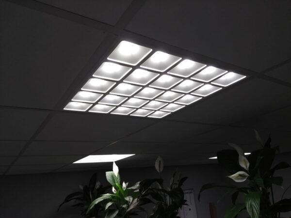 LED PANEEL GRILLE 60X60CM UGR13-4091