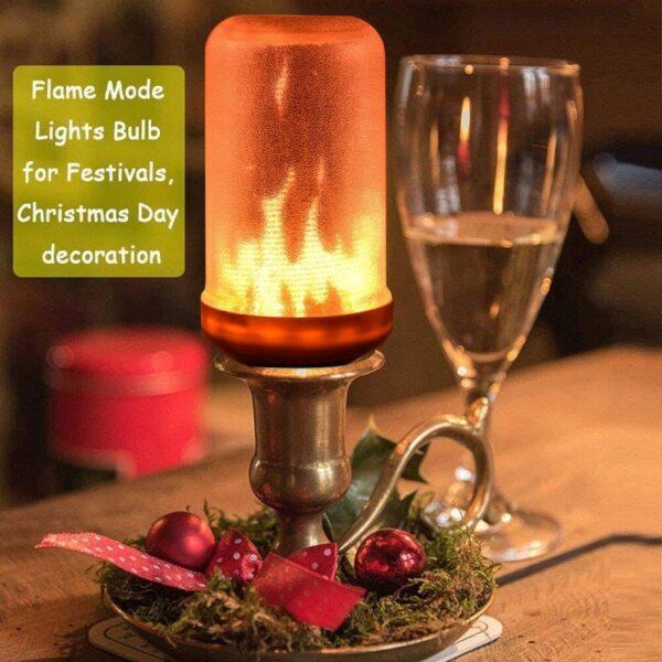 LED FLAME LAMP MET BEWEGEND VUUREFFECT-3204