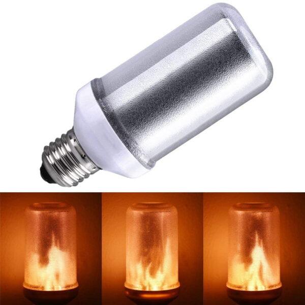 LED FLAME LAMP MET BEWEGEND VUUREFFECT-3203