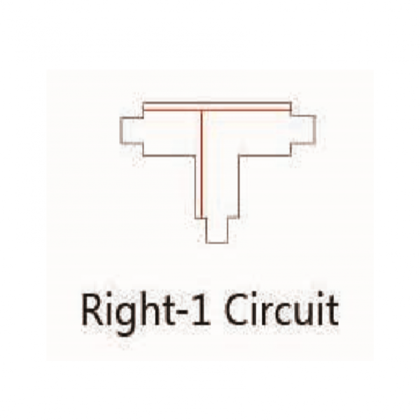 T-VORM CONNECTOR RIGHT-1-4043