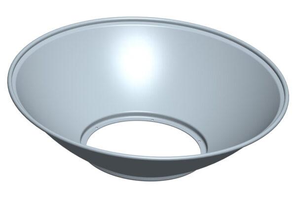 HUC ALUMINIUM REFLECTOR 90° + korte schroeven-3540