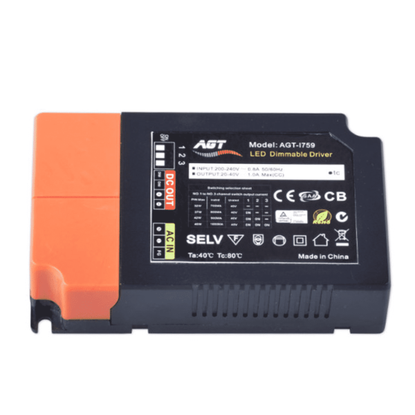 1-10 VOLT AGT DIMBARE LED DRIVER 40 WATT-0