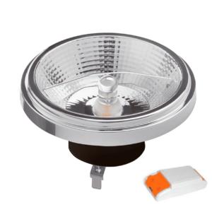 LED AR111 G53 SPOT 45° DIM TO WARM 12W ZWART-0