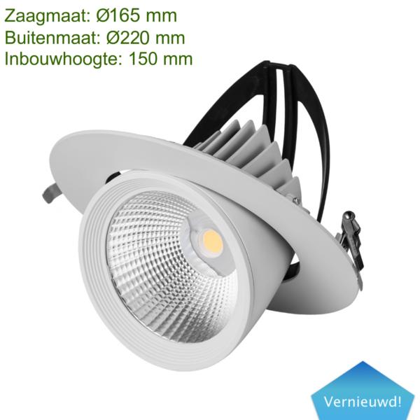 LED DOWNLIGHT KANTELBAAR 40W -0