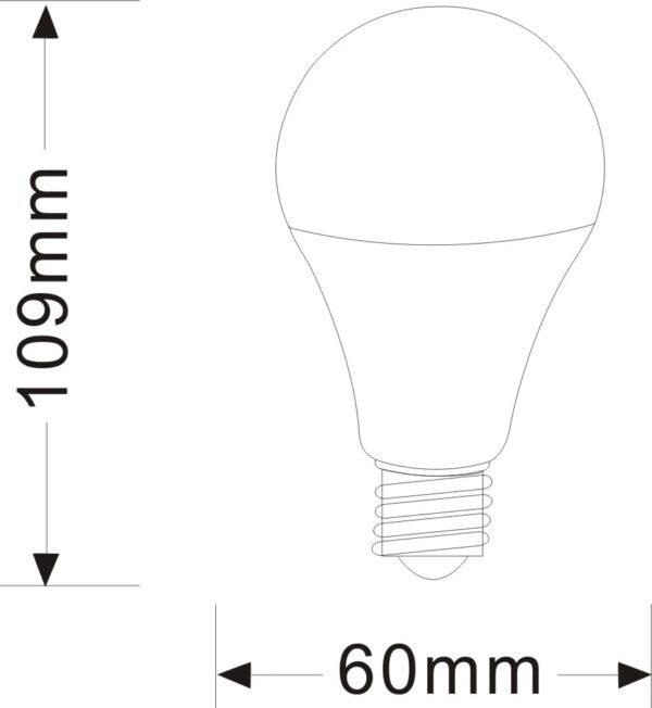 LED LAMP E27 11W VERHUISLAMP-3843