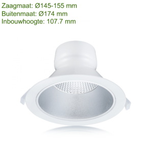 LED DOWNLIGHT REFLECTOR 145MM 15W-0