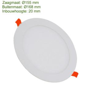 LED DOWNLIGHT SLIM Ø155 12W-0