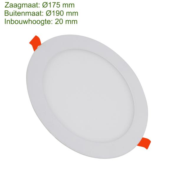 LED DOWNLIGHT SLIM Ø175 15W-0
