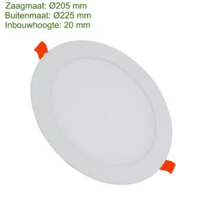 LED DOWNLIGHT SLIM Ø205 18W-0