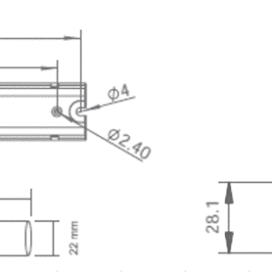 NOODVERLICHTING SPOT INBOUW LED 3W BREDE LENS-6031