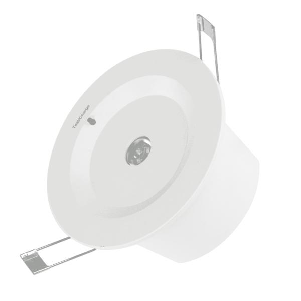 NOODVERLICHTING SPOT INBOUW LED 3W-0
