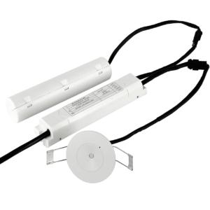 NOODVERLICHTING SPOT INBOUW LED 3W FOCUS LENS-0