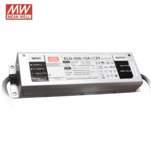12V MEANWELL DRIVER IP65 200W-0