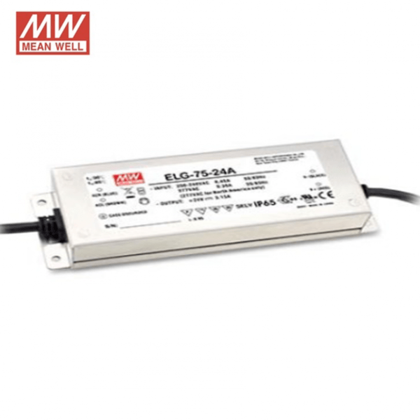 24V MEANWELL DRIVER IP65 75W-0