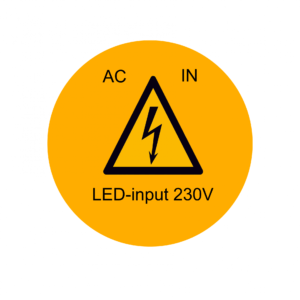 ETIKETTEN LED-INPUT 230V (100 stuks per rol)-0