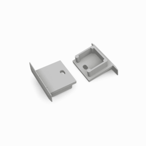 END CAP MET KABELOPENING INBOUW SMART 16MM (2 stuks)-0