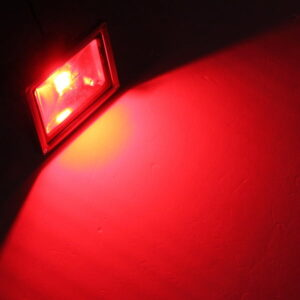 LED FLOODLIGHT IP65 10W RED-0