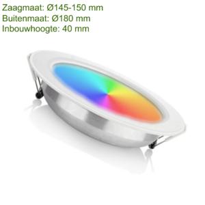LED DOWNLIGHT RGB+CCT 12W-0