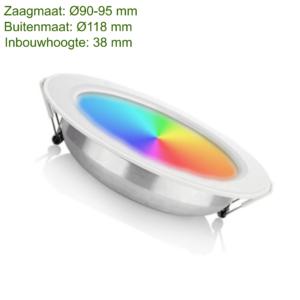 LED DOWNLIGHT RGB+CCT 6W-0