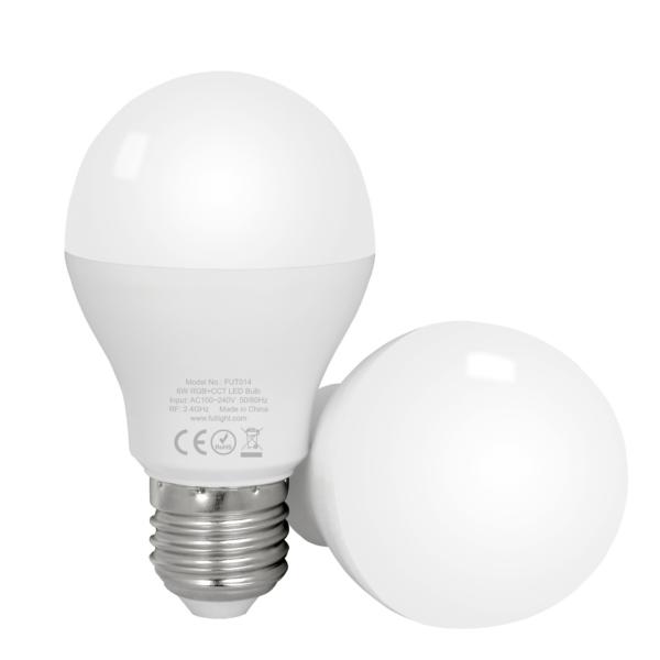 LED LAMP E27 6W RGB+CCT-4785
