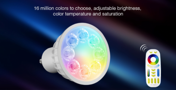 GU10 MR16 LED SPOT RGB+CCT 4W -4672