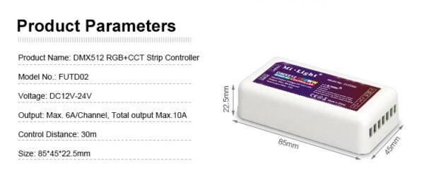MI-LIGHT DMX512 CONTROLLER-2275