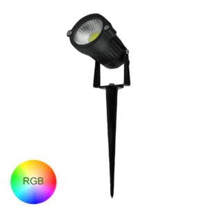 TUINSPOT MET GRONDPEN 6W RGB-0