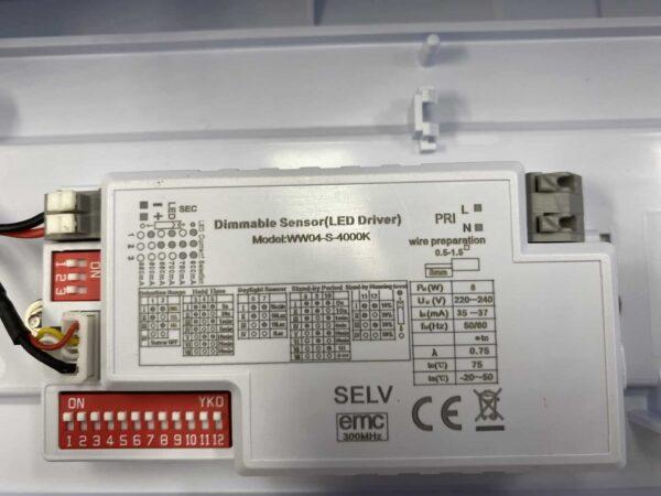 LED GALERIJ / PORTIEKVERLICHTING IP65 MET SENSOR-6042