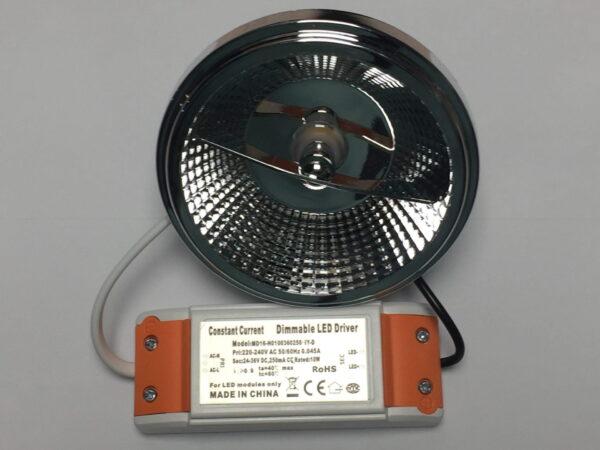 LED AR111 G53 SPOT 45° DIMBAAR 12W-4407