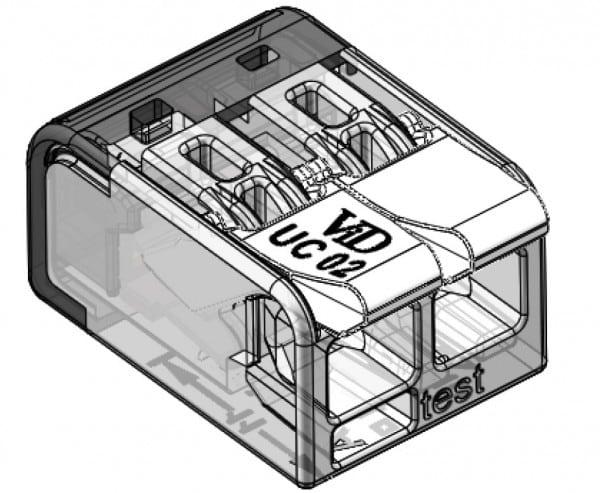 LASKLEM UNIVERSEEL 2 draden van 0.2 tot 4mm² (per 100 stuks)-5747