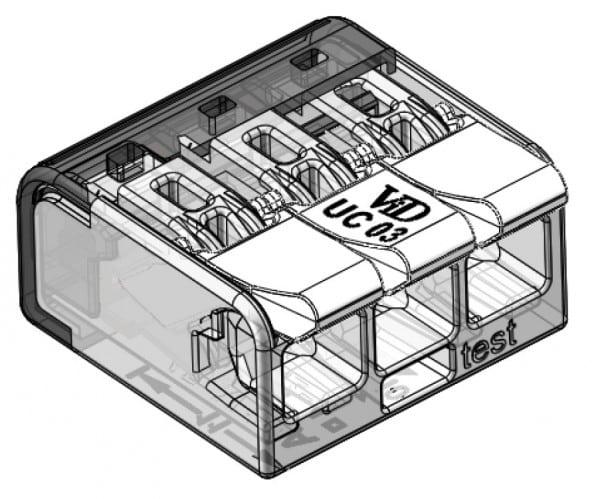 LASKLEM UNIVERSEEL 3 draden van 0.2 tot 4mm² (per 50 stuks)-5752