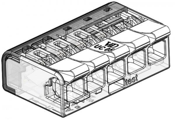 LASKLEM UNIVERSEEL 5 draden van 0.2 tot 4mm² (per 25 stuks)-5756
