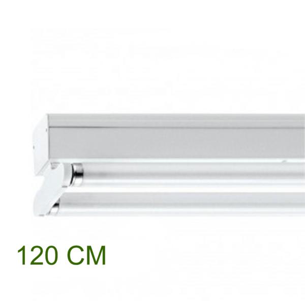 IP22 ARMATUUR T.B.V. 2X LED TL-BUIS 120CM-0