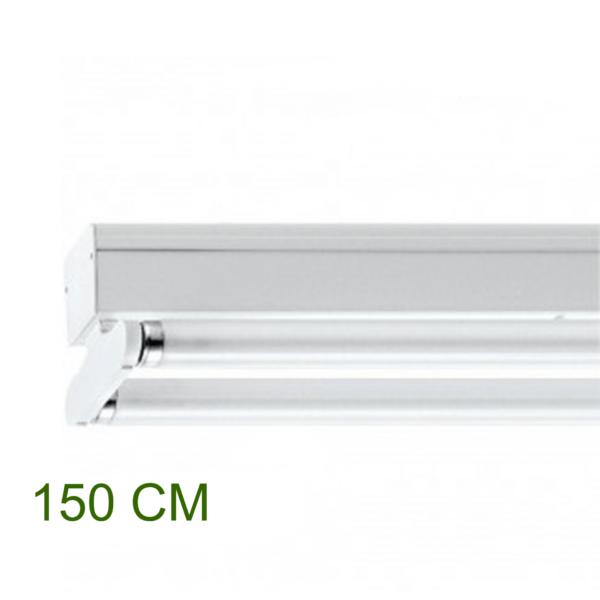 IP22 ARMATUUR T.B.V. 2X LED TL-BUIS 150CM-0