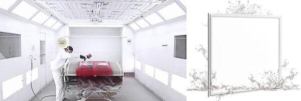 LED PANEEL WATERPROOF 60x60CM-40W-3392