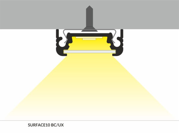 PROFIEL SURFACE 10MM 2MT-2944