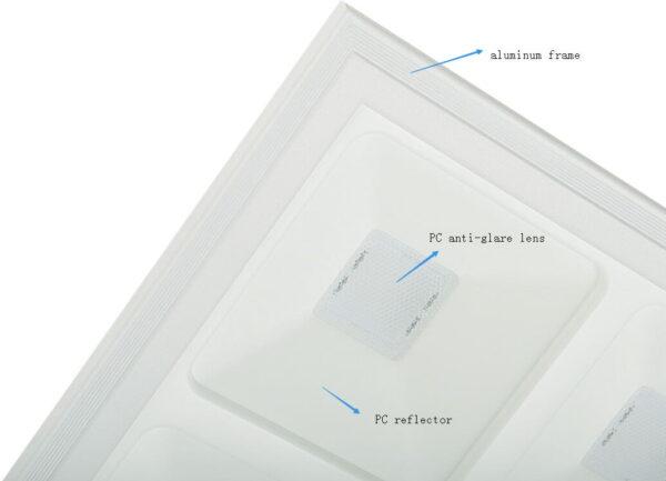LED PANEEL GRILLE 60X60CM UGR13-3621