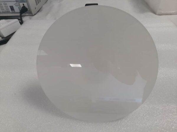 MAT GLAS COVER 120° VOOR HIGH BAYS ZWART (HUC)-5568