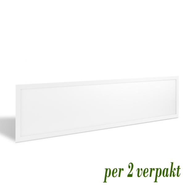 LED PANEEL ECO 120X30CM 40W (per 2 verpakt)-0