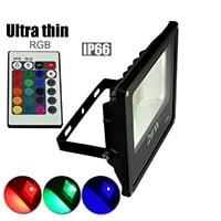 LED FLOODLIGHT RGB IP65 30W-0