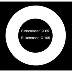 Verloopring Ø 65-105mm-0