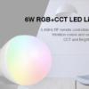 LED LAMP E27 6W RGB+CCT-4711