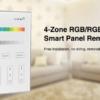 MI-LIGHT 4 ZONE RGB+W PANEL REMOTE-4689