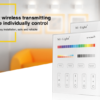 MI-LIGHT 4 ZONE RGB+CCT PANEL REMOTE (220Volt)-4724