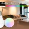 LED LAMP E27 6W RGB+CCT-4708