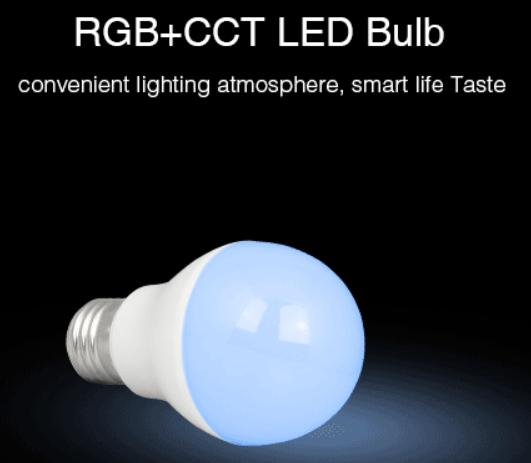 LED LAMP E27 6W RGB+CCT-4707