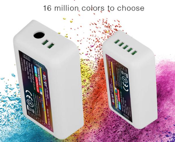 MI-LIGHT 4 ZONE RGB+W STRIP CONTROLLER-4718